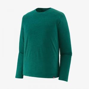 Mens Long-Sleeved Capilene Cool Daily Shirt