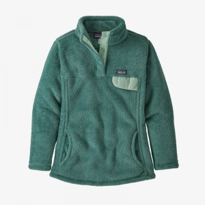 Girls Re-Tool Snap-T Fleece Pullover