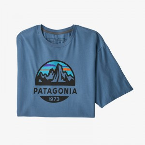 Mens Fitz Roy Scope Organic Cotton T-Shirt