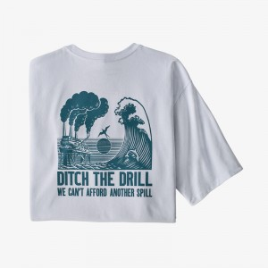 Mens Ditch the Drill Responsibili-Tee