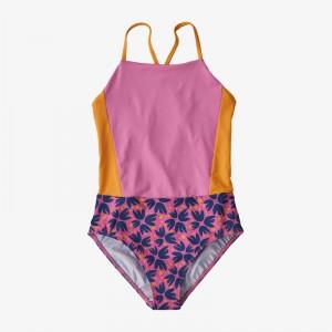Girls Shell Seeker One-Piece Swimsuit