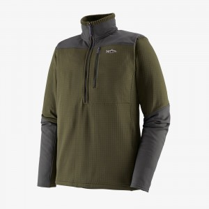 M's Long-Sleeved R1® Fitz Roy 1/4-Zip