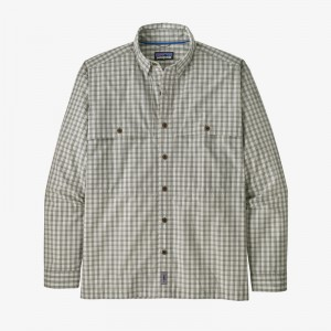 Mens Long-Sleeved Island Hopper Shirt