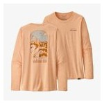 Womens Long-Sleeved Capilene Cool Daily Graphic Shirt
