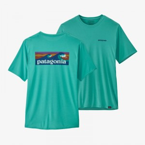 Mens Capilene Cool Daily Graphic Shirt
