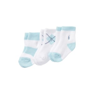 Terry Sock Three Pack