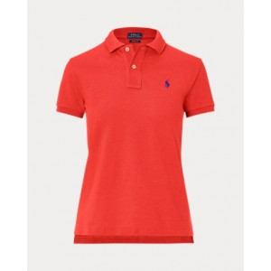 Classic Fit Mesh Polo Shirt RL 2000 Red