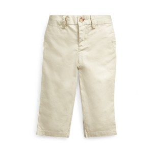 Flat Front Cotton Chino