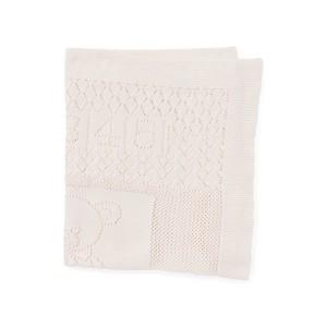 Bear Pointelle Cotton Blanket