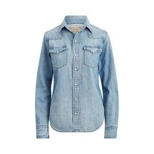 Premium Denim Western Shirt