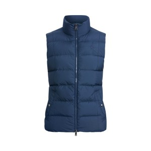 Belmont Down-Fill Vest Aviator Navy