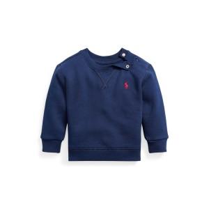 Cotton Blend Fleece Sweatshirt