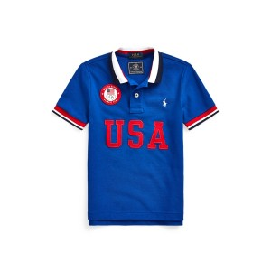 ECOFAST Pure The Team USA Polo Shirt