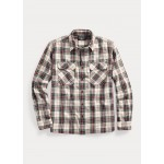 Tartan Cotton-Linen Workshirt