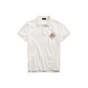 Beaded Logo Polo Shirt