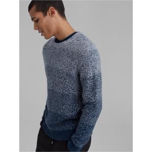 Cashmere Gradient Crewneck Sweater