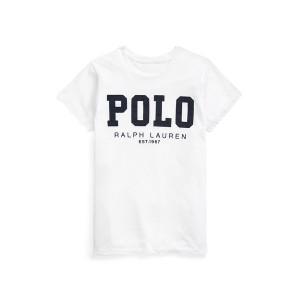 Polo Logo Cotton Jersey Tee