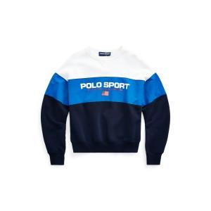 Color Blocked Polo Sport Sweatshirt