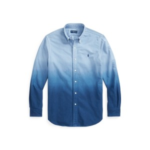 Classic Fit Dip Dyed Oxford Shirt