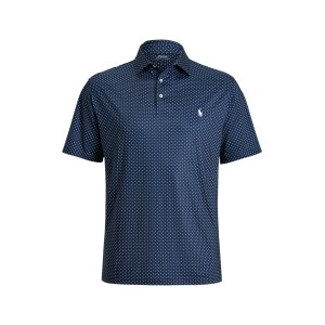 Diamond Print Performance Polo Shirt