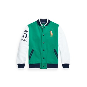 Twill Terry Baseball Jacket