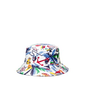 Reversible Cotton Oxford Bucket Hat