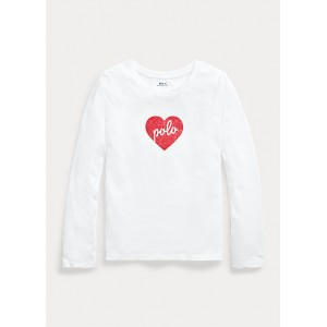 Polo Heart Cotton Jersey Tee