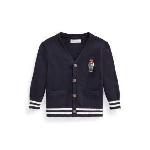 Polo Bear Cotton Cardigan
