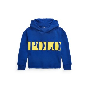 Logo Double Knit Cropped Hoodie
