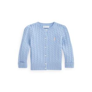 Mini Cable Cotton Cardigan