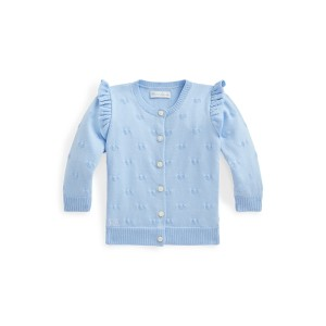 Knit Heart Cotton Cardigan