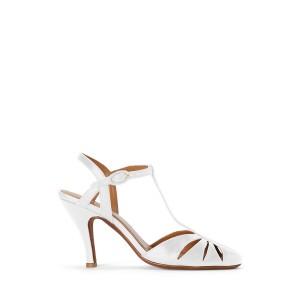 Leather Closed Toe Sandal