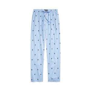 Polo Bear Gingham Pajama Pant
