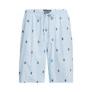 Polo Bear Gingham Pajama Short