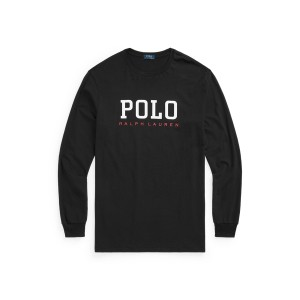 Logo Jersey Long Sleeve T Shirt
