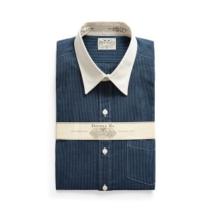 Eli Slim Fit Striped Woven Shirt