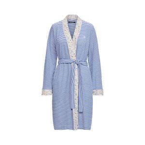 Striped Short Kimono Robe