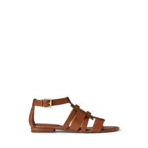 Elianna Burnished Leather Sandal
