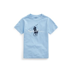 Big Pony Logo Cotton Jersey Tee