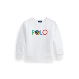 Polo Bear Logo Fleece Sweatshirt