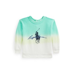 Dip Dyed Spa Terry Graphic Sweatshirt