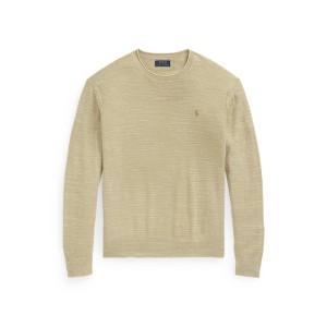 Cotton Linen Rollneck Sweater