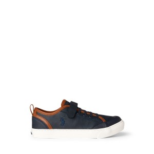 Asher II Faux Leather Sneaker