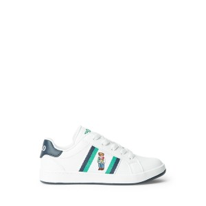 Oaklynn Polo Bear Faux Leather Sneaker