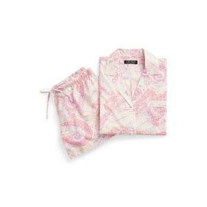 Paisley Boxer Pajama Set