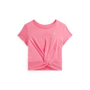 Twisted Knot Cotton Jersey Tee