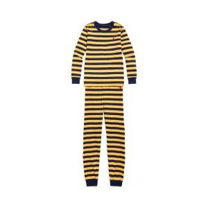 Striped Stretch Jersey Sleep Set