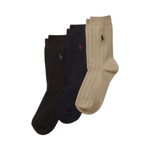Ribbed Dress Sock 3 Pack