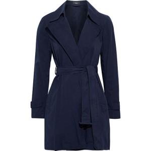 Navy Oaklane cotton-twill trench coat