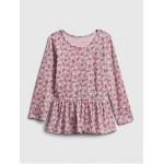 Toddler Mix and Match Peplum Shirt